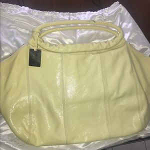 Women's furla yellow purse